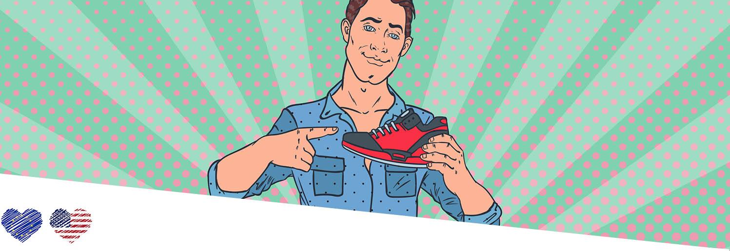 Men's European to US Shoe Size Converter